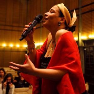 yolande AMBIANA by Amber van Shendel/ Concert 03-12-2012 contre les MGF, Centre Œcuménique de Genève